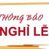 Lịch nghỉ chính thức ngày Giỗ tổ Hùng Vương và các dịp lễ năm 2016