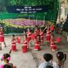 """Tiết mục múa """"Cô giáo em là hoa Ê ban"""" của học sinh điểm 6000 Đòn Dong. Hội thi """" Tiếng hát trẻ thơ"""" năm 2016"""