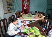 Lễ kết nạp Đảng viên mới tại Khu di tích Ranh Hạt