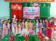 Họp mặt kỷ niệm 111 năm  ngày Quốc Tế Phụ nữ 8/3  và 1981  năm khởi nghĩa Hai Bà Trưng, ngày Quốc tế Hạnh phúc 20/3